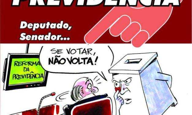 ATO UNIFICADO NO AEROPORTO EM BRASÍLIA: DIRETORA DA FENASPS ASSUSTA BOLSONARO