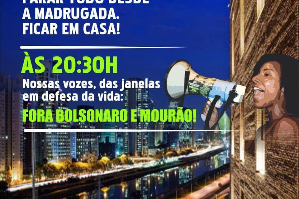 Combater o governo Bolsonaro para enfrentar o coronavírus e a crise econômica