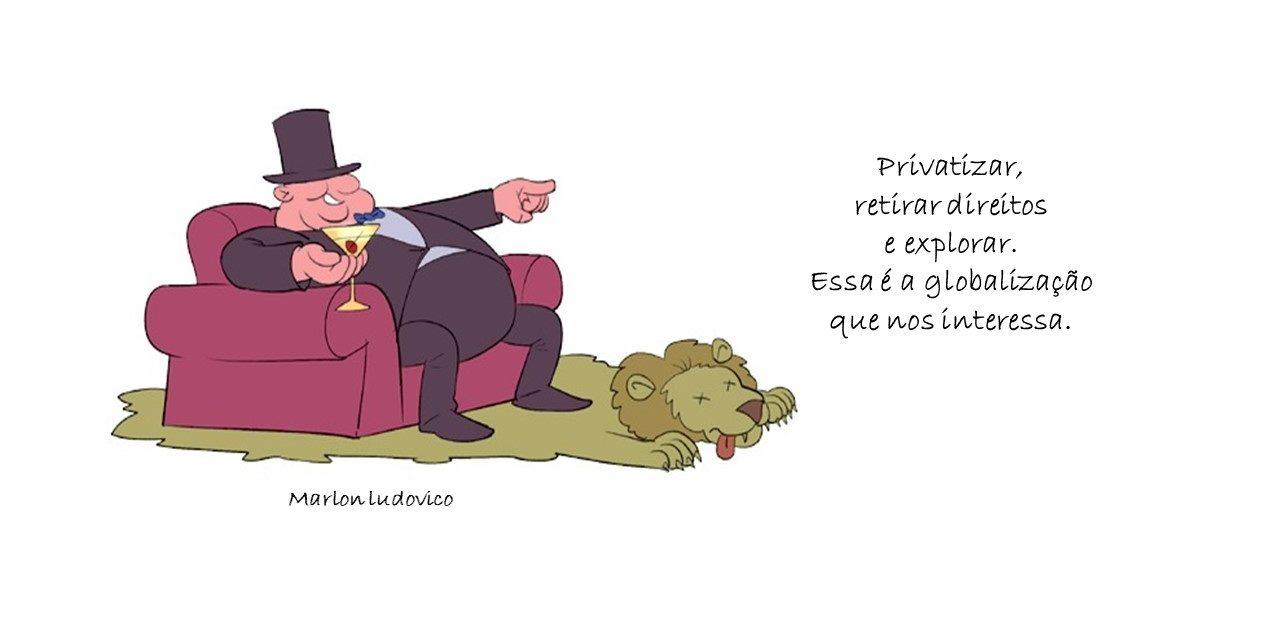 URGE QUE OS RICOS PAGUEM A CONTA! Nenhum real para banqueiros,                                                               grandes empresários e latifundiários!
