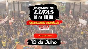 Vídeo: Ato Virtual Fora Bolsonaro/Mourão. Confira!
