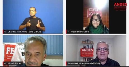 ANDES | Ataques aos direitos e à organização dos trabalhadores e trabalhadoras