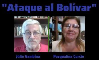 """VENEZUELA: Confira importante apresentação da economista Pasqualina Curcio, intitulada """"ATAQUE AL BOLIVAR"""", com comentários de Julio Gambina."""